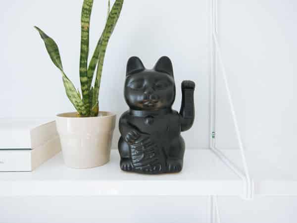 statue de chat